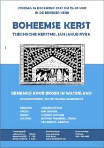 poster Boheemse kerst